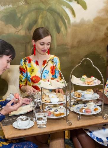 Tea & Fashion at Fairmont San Francisco