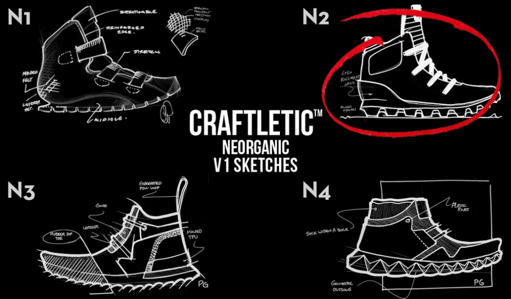Betabrand & Timberland Launch Craftletic™