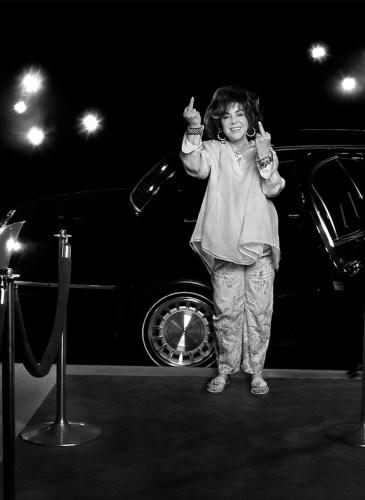 Elizabeth Taylor LA 2000 by Timothy White