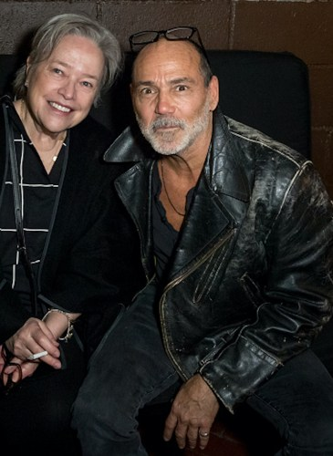 Kathy Bates and Timothy White