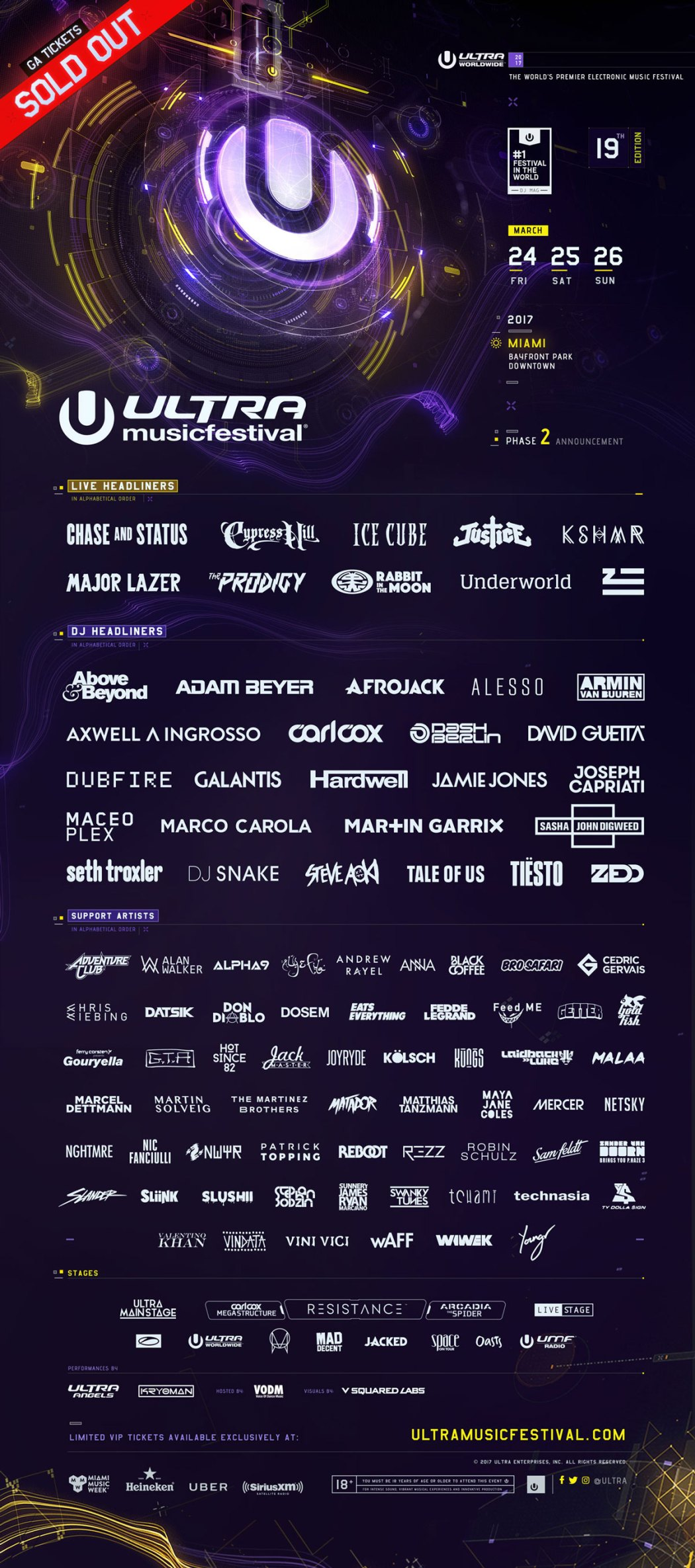 Ultra 2017 Poster