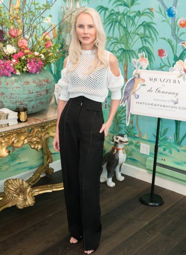 MATCHESFASHION.COM Celebrates Aquazzura for De Gournay Exclusive Collection Launch