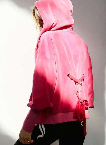 UO X Juicy Pink Hoodie.1