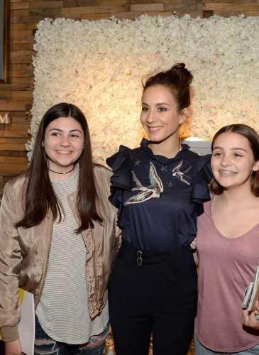Troian Bellisario with Fans