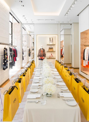 FENDI Boutique Luncheon and Preview
