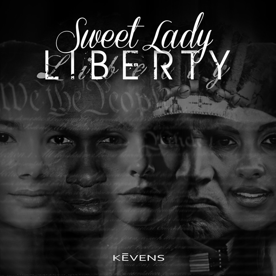 South Florida Artist Kevens Gets Political With Sweet Lady Liberty