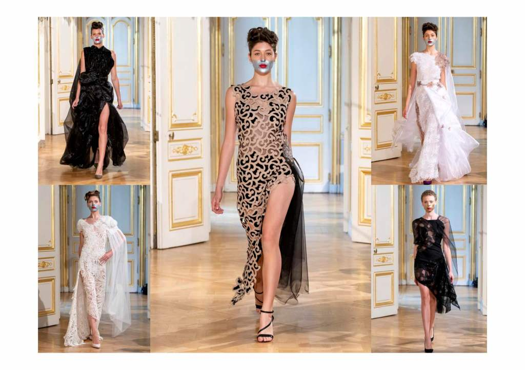 Paris Fashion show at High Drama