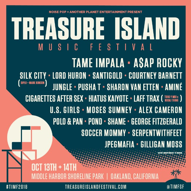 TREASURE ISLAND MUSIC FESTIVAL GEARS UP FOR ITS NEXT CHAPTER, NEW LOCATION & AN IMPRESSIVE LINE-UP…