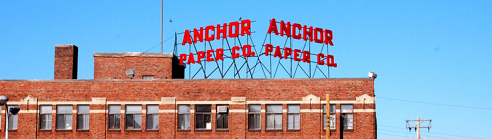 Monadnock and Anchor join for Sustainable paper products.