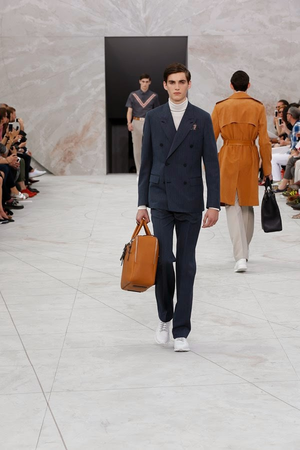 Louis Vuitton SS15 @ Paris Fashion Week: Men