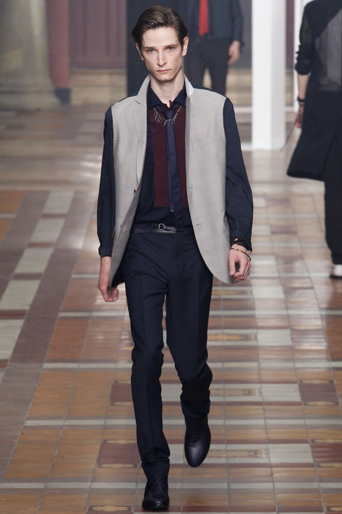 Lanvin SS15 @ Paris Fashion Week: Men