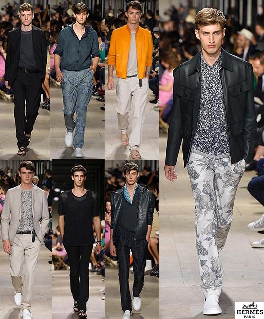 Hermès SS15 @ Paris Fashion Week: Men