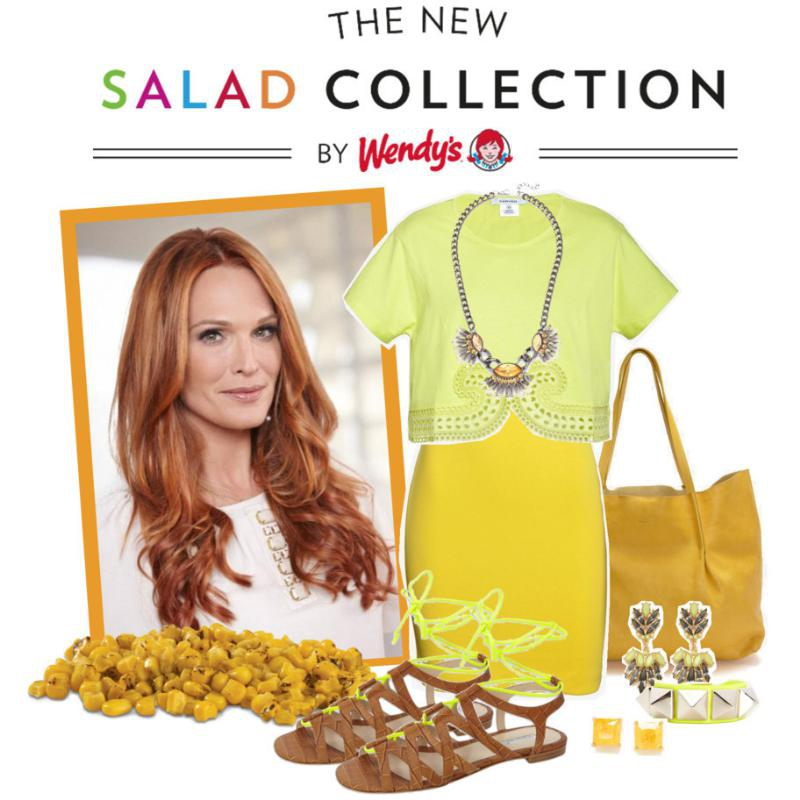 Actress And Style Icon Molly Sims To Give Lucky Fashionista A 'Fashion 411' Through Wendy's® #NewSaladCollection Contest