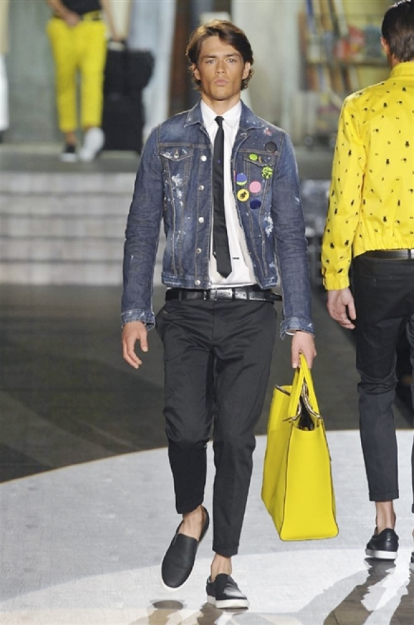 DSquared2 SS15 @ Milan Fashion Week: Men