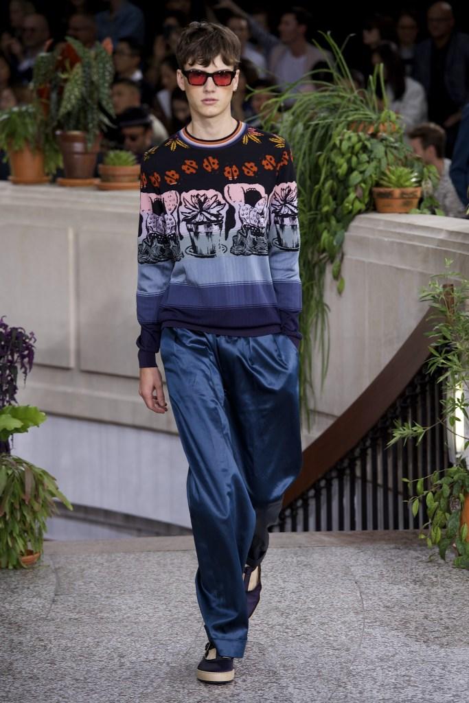 Paul Smith SS15 @ Paris Fashion Week: Men