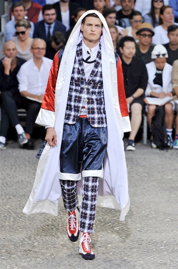 Moncler Gamme Bleu SS15 @ Milan Fashion Week: Men