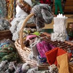 Selection of wares from Not Your Mother's Yarn