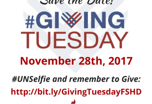 Giving Tuesday Save Date