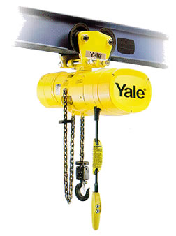 Yale Model KELC Hook & Lug Mounted Electric Chain Hoist