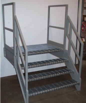 Galvanized Stairs Metal Stairs Osha Prefab Stairways   Galvanized Pipe Stair Railing   Garden   Plumbing Pipe   Water Pipe   Box Pipe   Deck