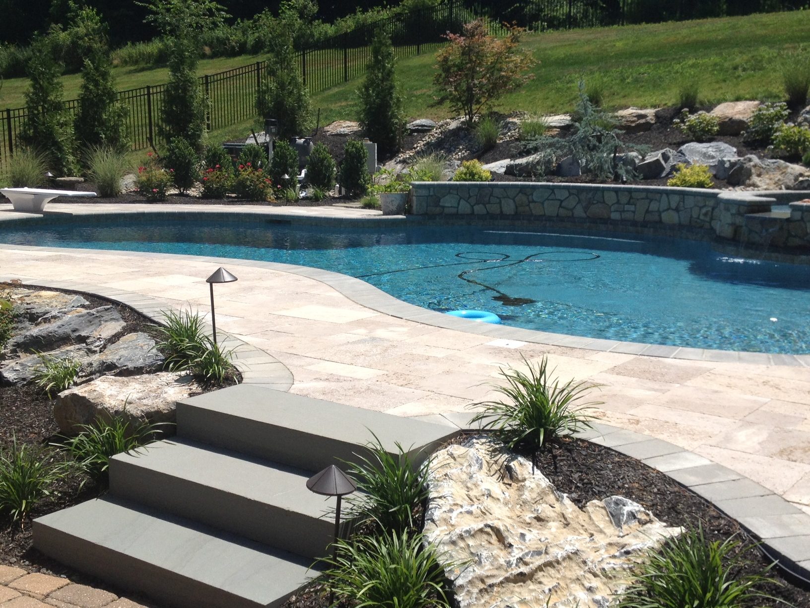 """Tag Archive for """"swimming pools"""" - Landscaping Company NJ ... on Patio Ideas Around Pool id=75187"""