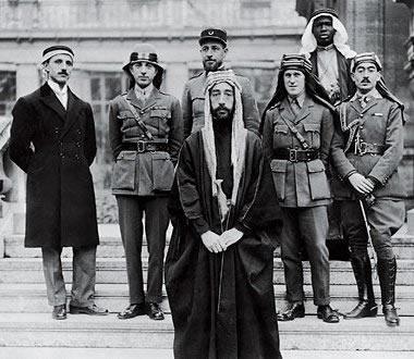 Faisal at Paris, 1919