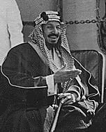 King Saud, 1945