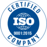 f society is certified with 9001-2015 ISO