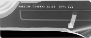Röntgenbild eines Porsche Carrera RS