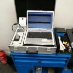 Regula 7505M zur magnetooptischen Untersuchung (VIN Scan)