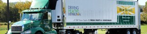 Driving Healthy Distribution truck