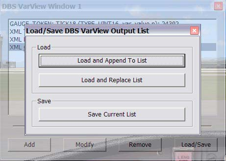 Dbs Varview for Fsx - Fsx Tools - Utilities - Fsx Add-ons ...