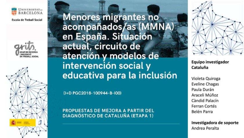 FSC participa en una recerca de la UB sobre menors migrants no acompanyats: itineraris d'inserció social i model d'intervenció socioeducativa