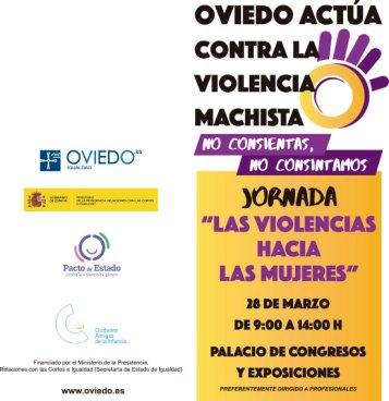 FSC centrará su intervención en la labor realizada en el Observatorio Noctámbul@s en una jornada sobre violencia hacia las mujeres en Oviedo