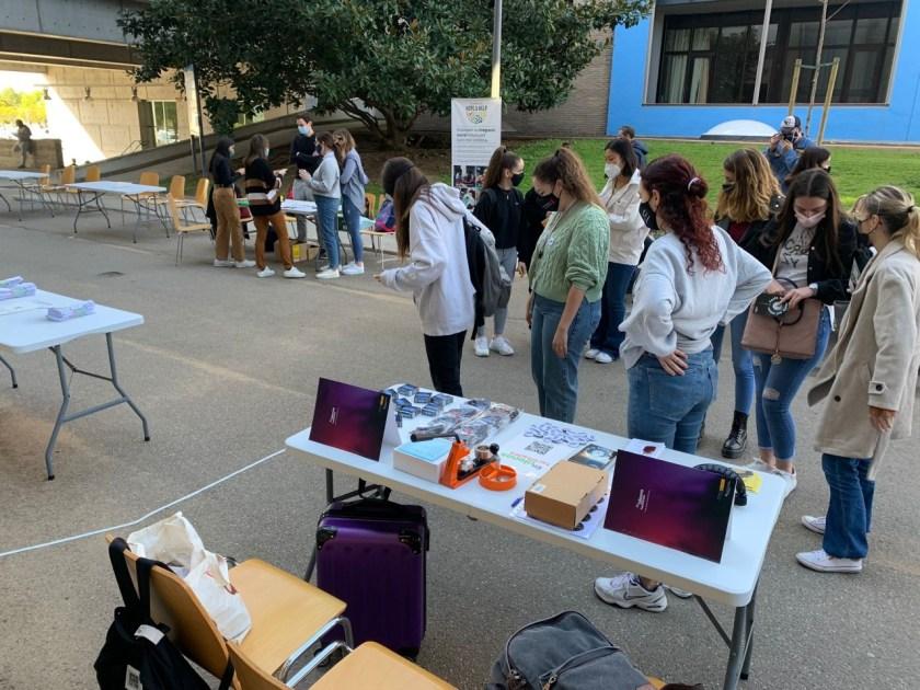 """Alegría en la vuelta presencial a las aulas del proyecto """"En Plenas Facultades"""" de FSC"""