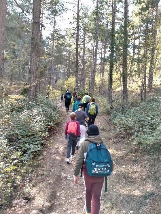 """Los menores del Centro de Atención """"Plana Alta"""" disfrutan y aprenden con actividades en la naturaleza en tiempos de COVID-19"""