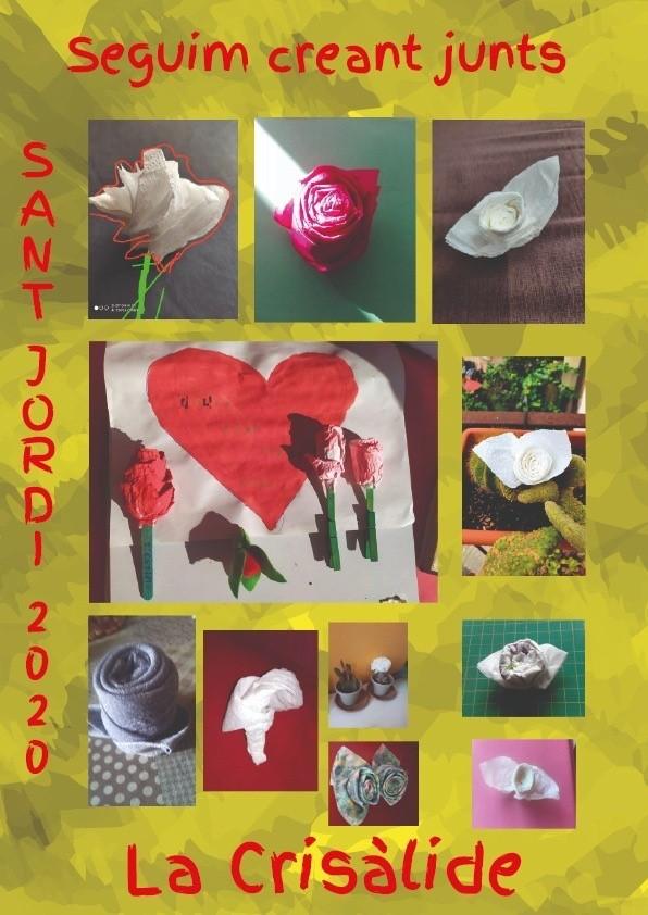 """Un Sant Jordi diferente en el Centro de Día de Reinserción """"La Crisàlide"""" de FSC"""