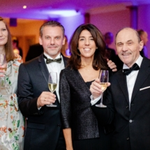 (from left) Annie Scanlan, FTA Europe, Vice President Wim Buyle, Monica Scorzino, ATIF Italy, President Sante Conselvan