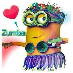 The benefits of Zumba, Minion style!