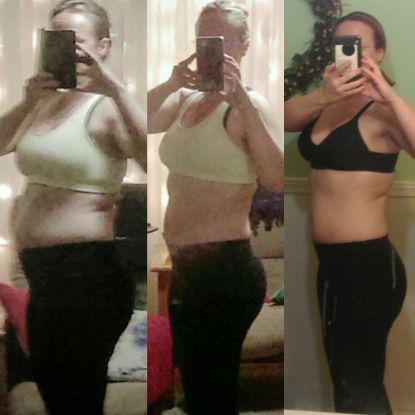 Julie weight loss success