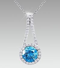 December Floral Jewels™ Birthstone Collection - Blue Topaz