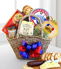 Le Petite Fromage Sampler Basket