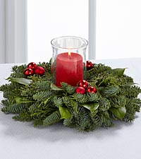 The FTD® Holiday Gathering Centerpiece by Better Homes and Gardens®