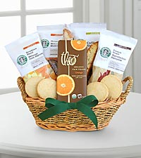Sips of Fall Starbucks® Basket