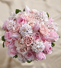 The FTD ® Dawn Rose™ Bouquet