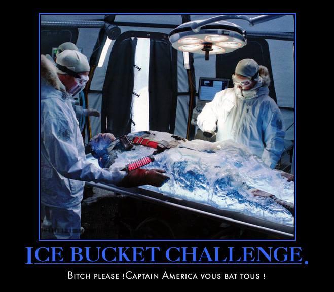 Captain america-ice bucket challenge-challenge