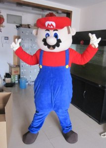 New-Super-Mario-Mascot-costume-Christmas-costume-dress-Santa-Costum-party-adult-costume