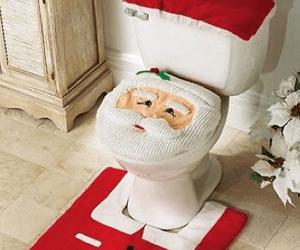 Santa-Toilet