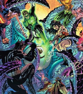 Starro_vs_Justice_League