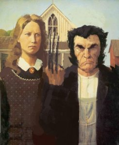 Woverine-American-Gothic